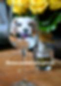 custom painted wine glasses cavalier kin