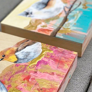 wood board bird paintings.jpg