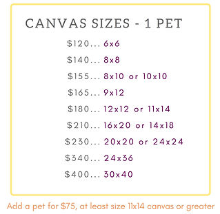 price list pet portraits amy yeager jorg