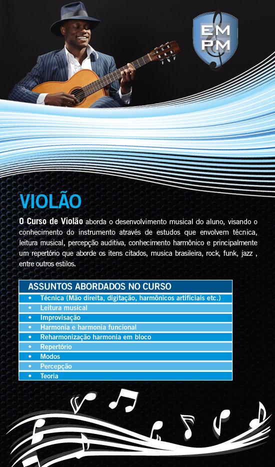 Aulas de Violão - Escola de Musica (Zona Sul, Santo Amaro, Interlagos, Cidade Dutra, Grajaú, Curso)