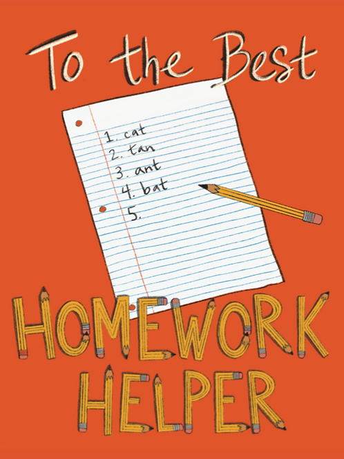 Homework Helper - Card