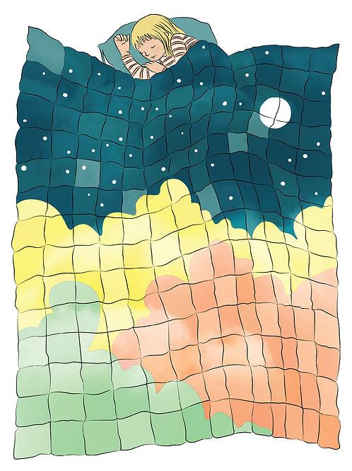 The Dream Quilt - Art Print