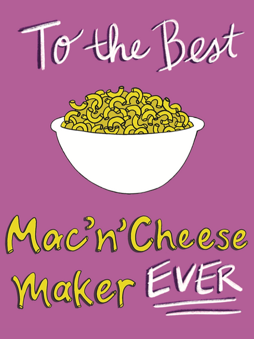 Mac'n'Cheese Maker - Card