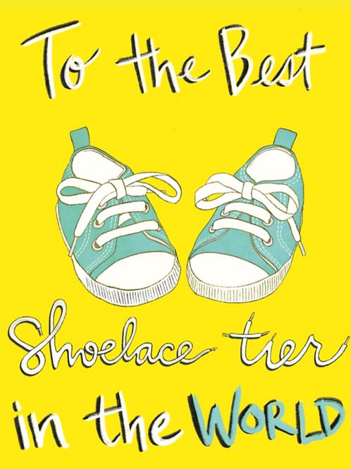 Shoelace Tier - Card