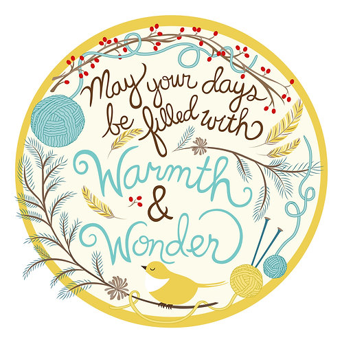 Warmth & Wonder - Holiday Card