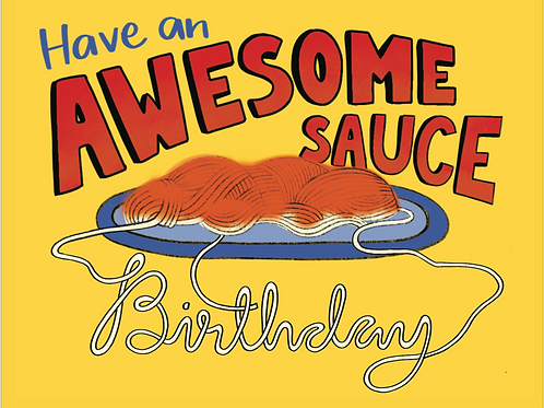 Awesome Sauce - Card