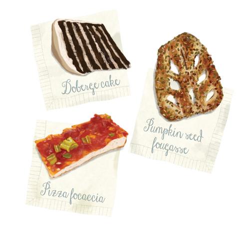 Bakery Illustrations