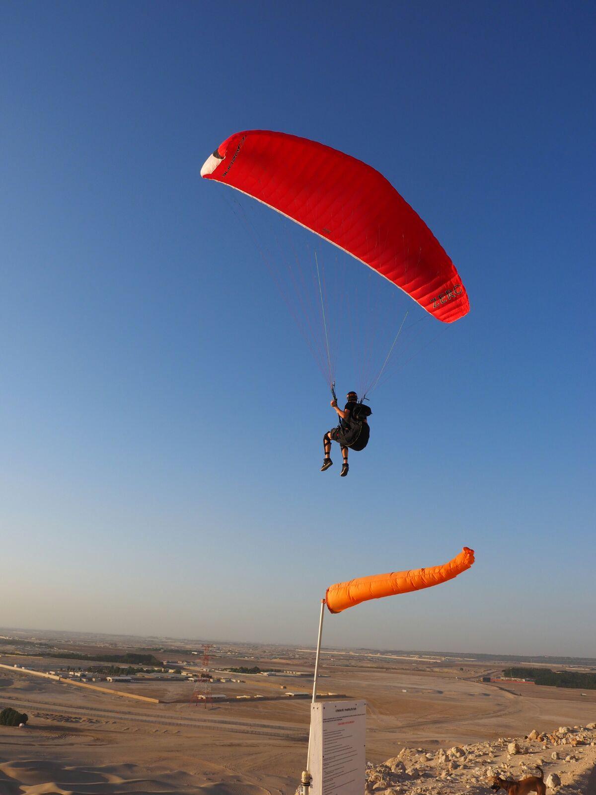 Basic Paragliding course