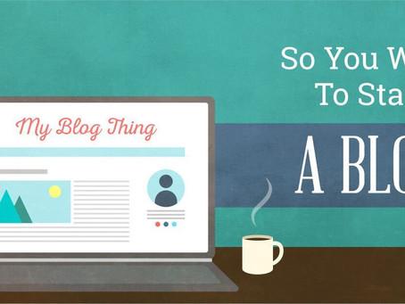The Art of Blogging!