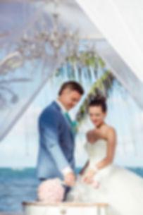 свадьба в цвете тифани