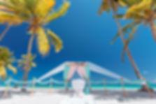 выездная регитрация на пляже