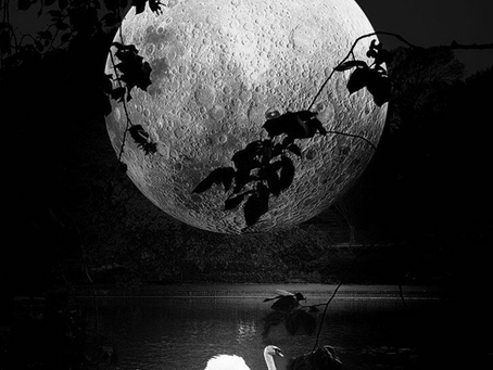 The Moon that fell to Earth