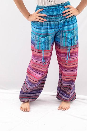 Lined-Harem pants