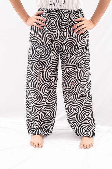 Spiral Harem pants