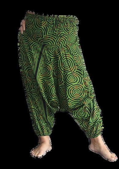 Spiral Aladdin pants