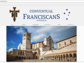 New Website for the Conventual Franciscans Australia