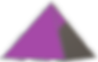 Purple and grey pyramid logo