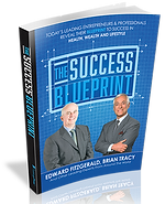 The Success Blueprint book front cover - Edward Fitzgerald - Brian Tracy