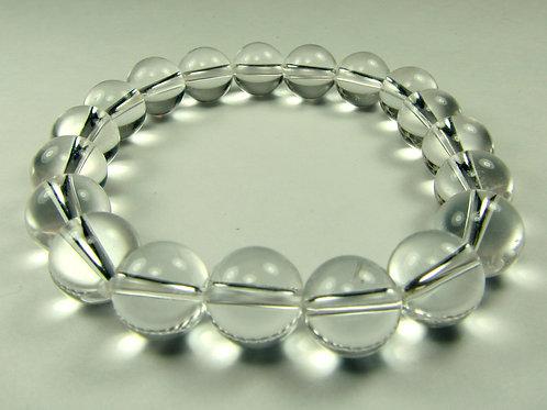 Clear Quartz Bracelet - 10mm beads