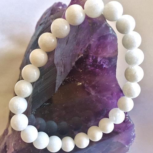 White Tridacna Bracelet