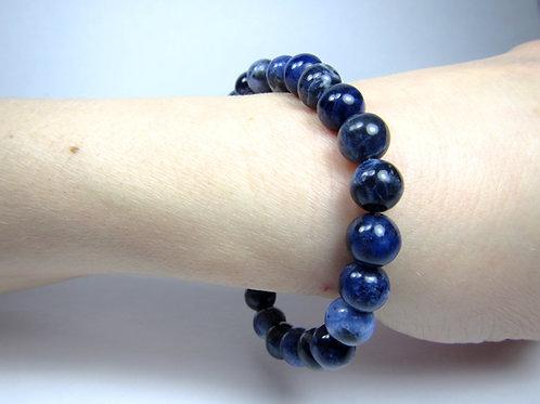 Sodalite Bracelet - 8mm beads