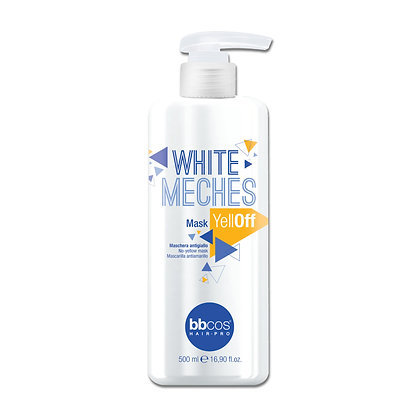 White Mèches - Mask Yellow Off