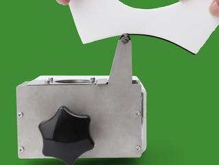 소구경 전동 약칠기 Edge Painting machine ( Roll Belt Type )