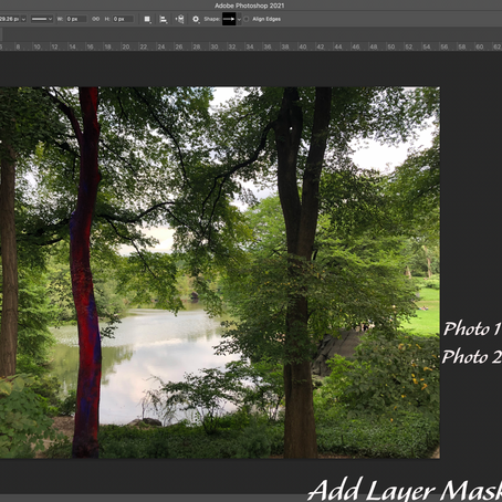 How to Blend Two Images in Photoshop using a Layer Mask