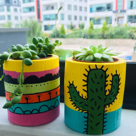 Artist of the Week! Creative Handmade Pots on Etsy by MyHandmade Thoughts