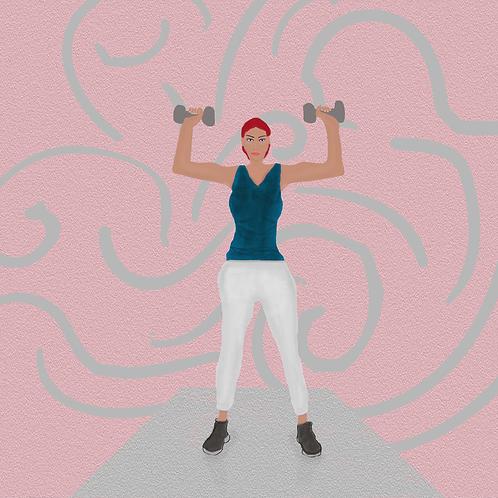 Female Fitness Art