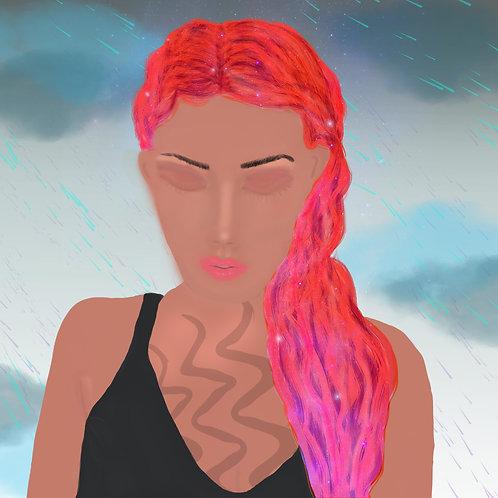 Rainy Day Digital Painting