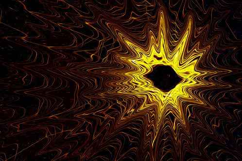 Abstract Yellow Star