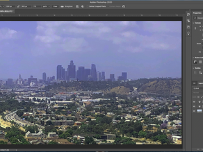 USING CROP TOOL IN PHOTOSHOP