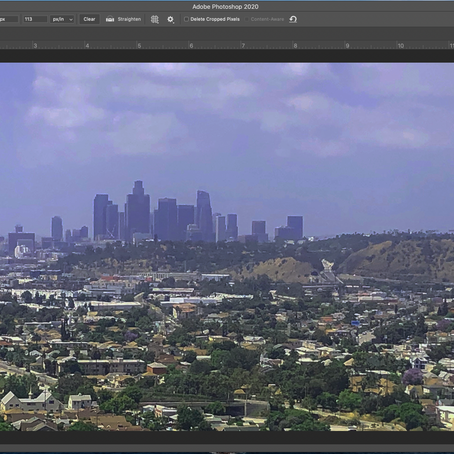 How to Straighten and Adjust a Photo in Photoshop