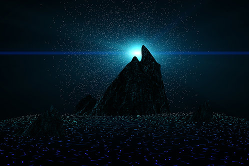 Mountains in Space