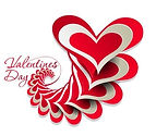 Valentines-Day-Paper-cut-Design-Vector-0
