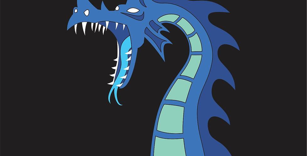 Sea Dragon Dice Bag