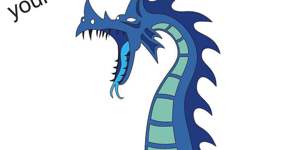 Sea Dragon Pin