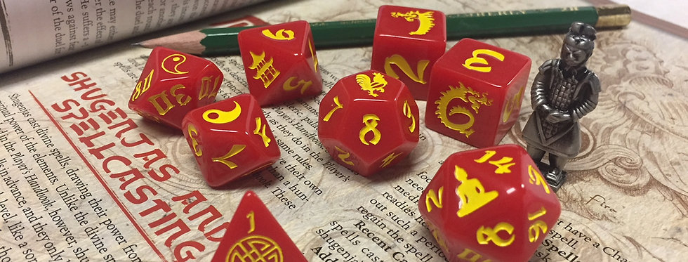 Double Dragons RPG Set