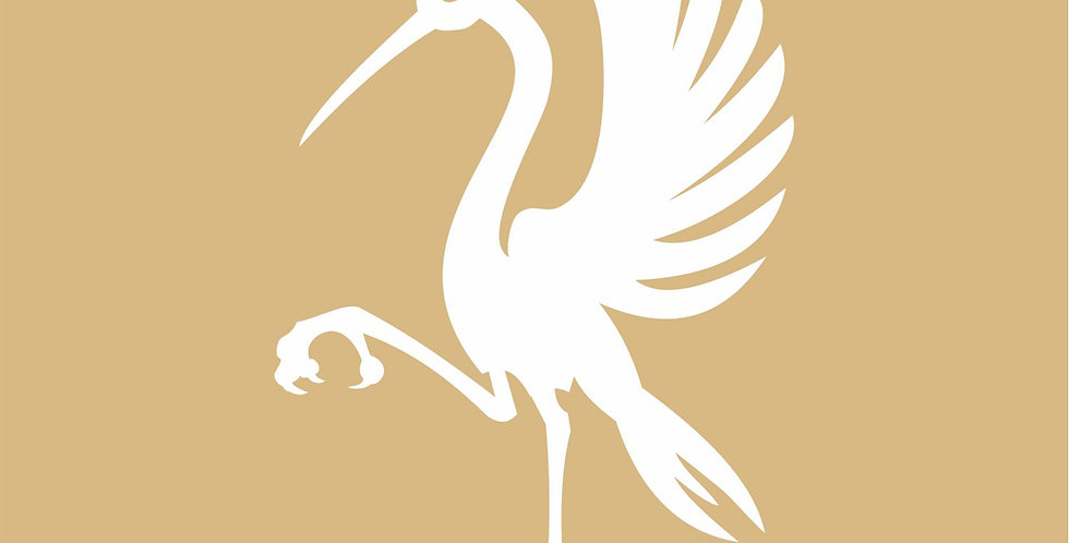 Heraldic Ibis