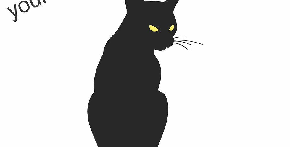 The Black Cat Pin