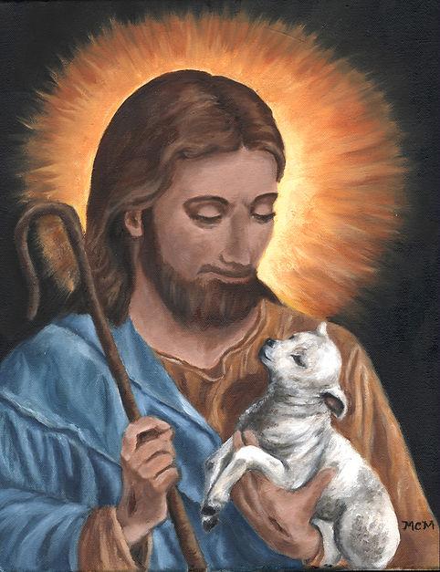 jesus lamb paint sepia.jpg