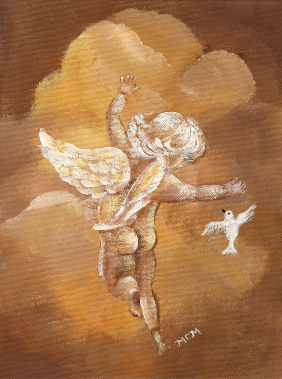 cherub with dove_edited