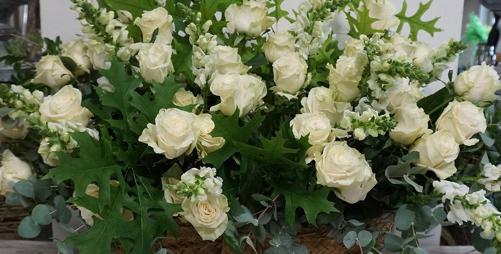 Gran Cesta de Flores  XXL 250€