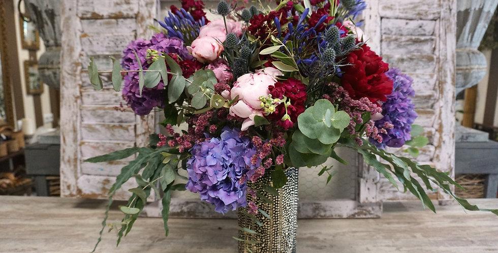 Gran Jarrón de Flores