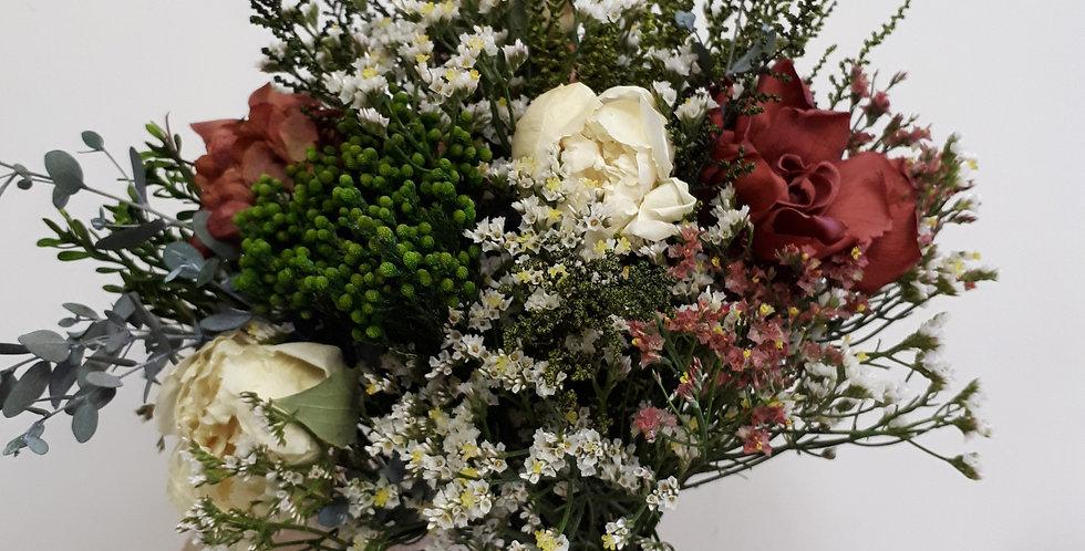 Ramo de Novia Peonias y Gardenias