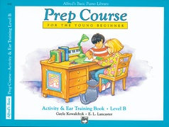 Alfred's Basic Prep Course, Activity & Ear Training Book, Level B