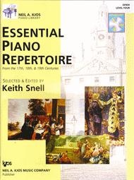 Repertorio de piano esencial, nivel cuatro