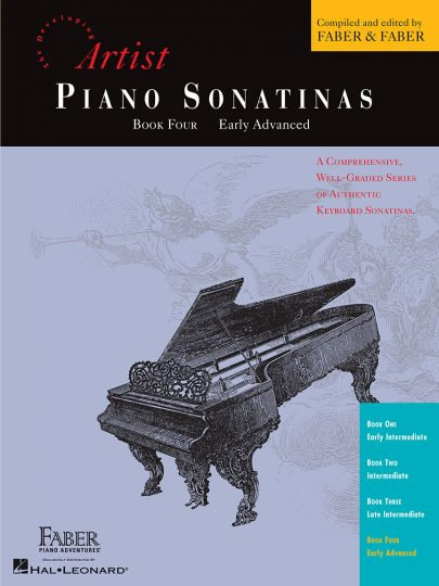 PIANO SONATINAS Book Four, Early Advanced