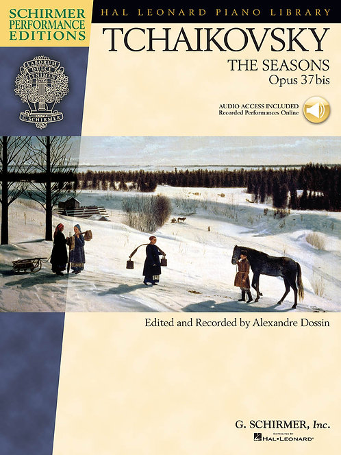 TCHAIKOVSKY The Seasons Opus 37bis with CD